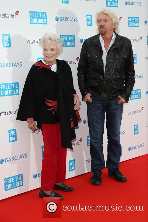Eve Huntley Flindt and Richard Branson 1