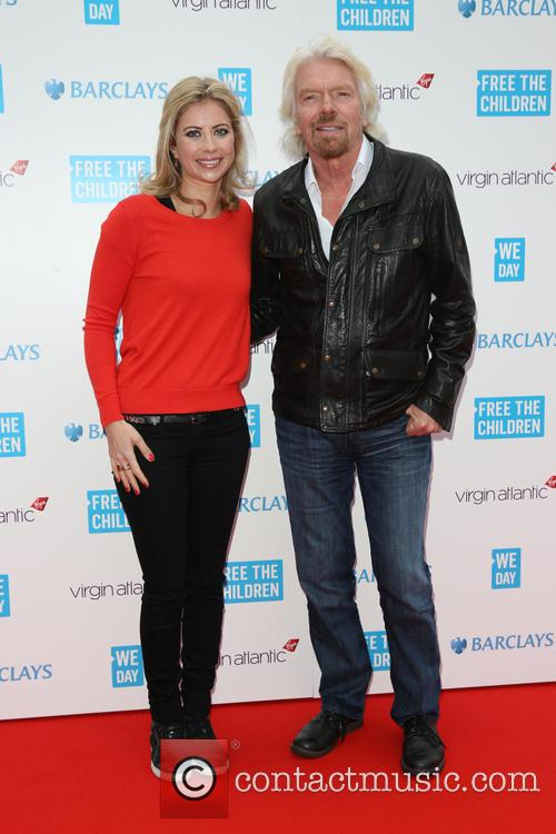Sir Richard Branson and Holly Branson 3