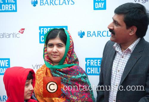 Malala Yousafzai, Ziauddin Yousafzai and Apal Khan 11