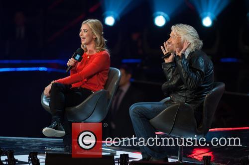 Holly Branson and Sr Richard Branson 1
