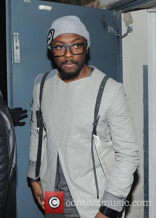 Will.i.am seen leaving the arts club
