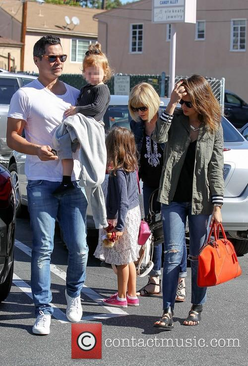 Cash Warren, Haven Warren, Jessica Alba and Honor Warren 2
