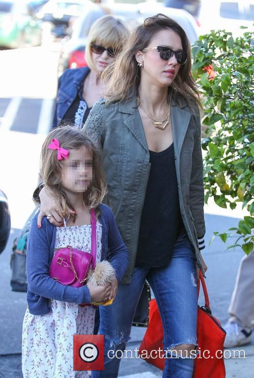 Jessica Alba and Honor Warren 1