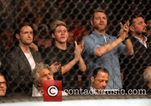 Niall Horan, Shane Filan and Brian Mcfadden