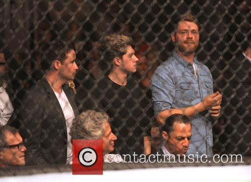 Niall Horan, Shane Filan and Brian Mcfadden 2
