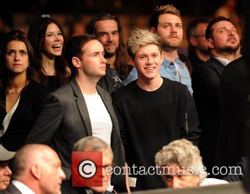 Niall Horan, Shane Filan and Brian Mcfadden 7