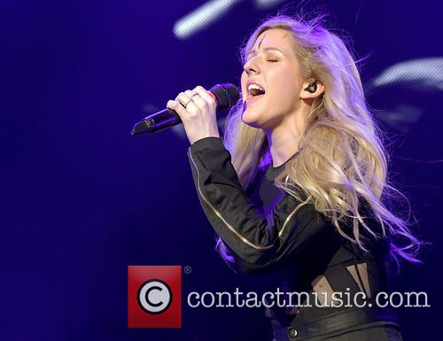 Ellie Goulding performs live