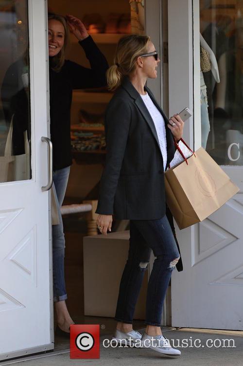 Naomi Watts leaves Brentwood Mart