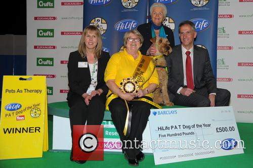 Pat Dog Of The Year Presentation and Pam St Clements 4