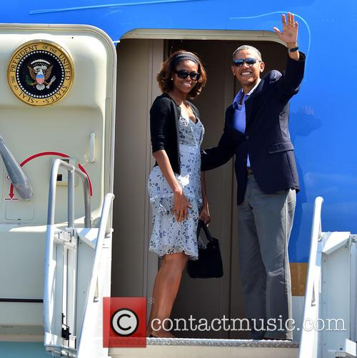 Barack Obama and Michelle Obama 2
