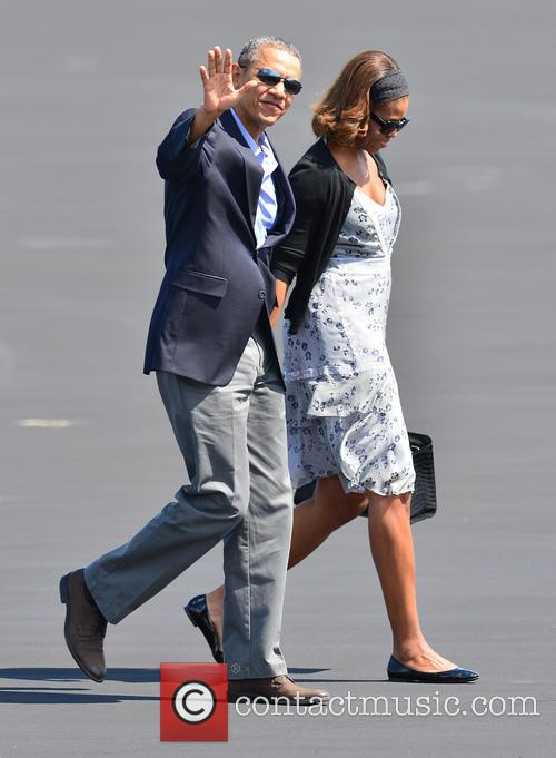 Barack Obama and Michelle Obama 3