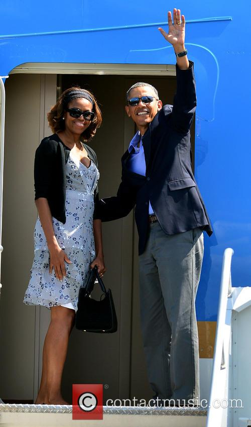 Barack Obama and Michelle Obama 7