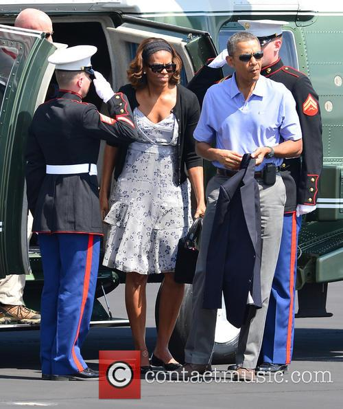 Barack Obama and Michelle Obama 8