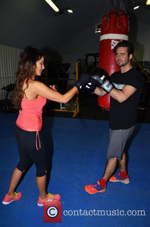 Lizzie Cundy and Spencer Matthews 24