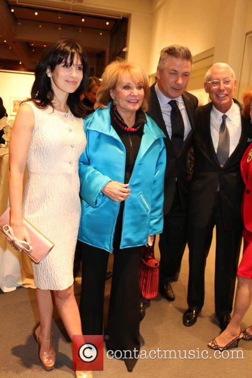 Alec Baldwin, Barbara Walters and Hilaria Baldwin 6