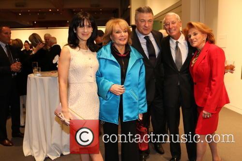 Hilaria Baldwin, Barbara Walters, Alec Baldwin