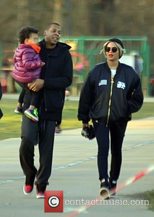 Beyonce, Jay Z and Blue Ivy Carter 3