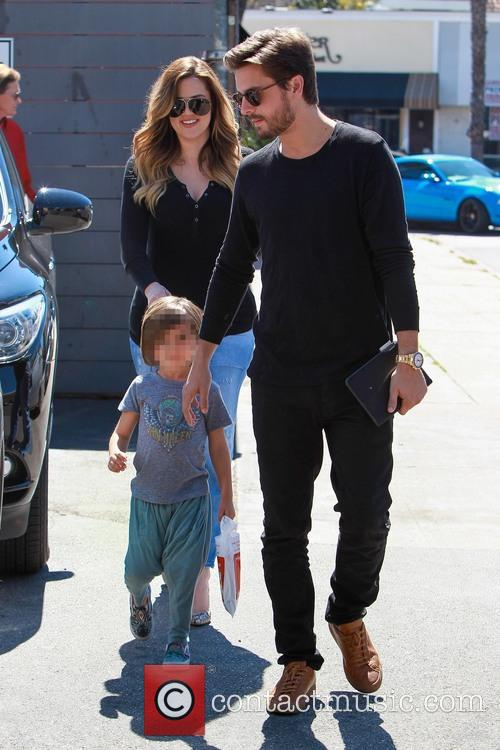 Scott Disick, Mason Disick and Khloe Kardashian 6