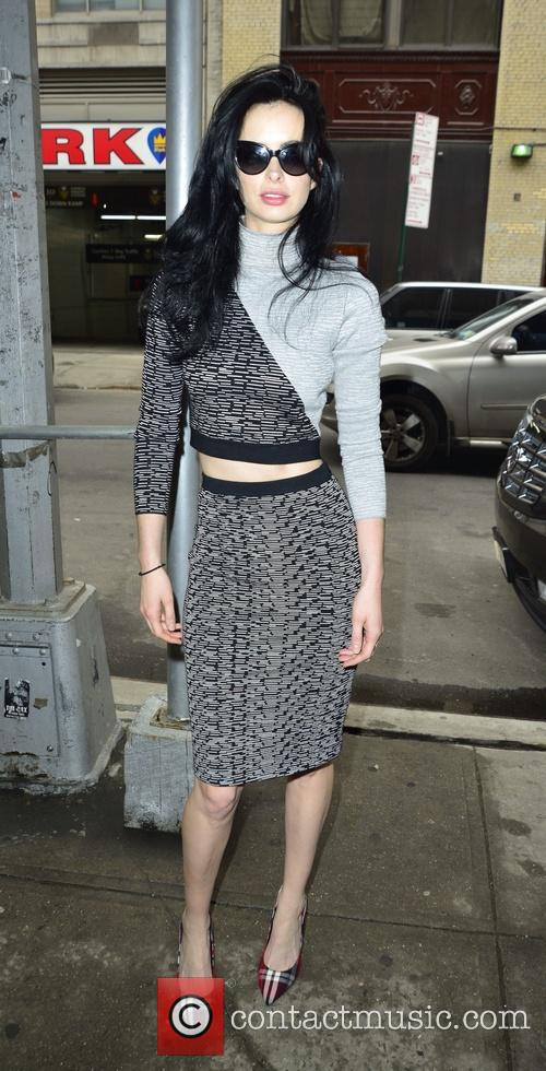 Krysten Ritter on the Wendy Williams show