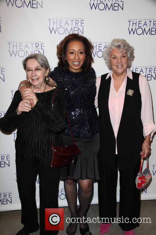 Zoe Caldwell, Tamara Tunie and Tyne Daly 2