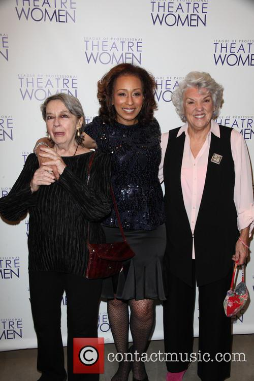 Zoe Caldwell, Tamara Tunie and Tyne Daly 1