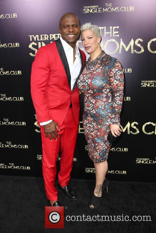 Terry Crews, Rebecca King-Crews, ArcLight Hollywood