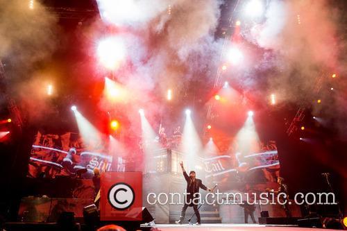 German rock band Scorpions perform in Portugal