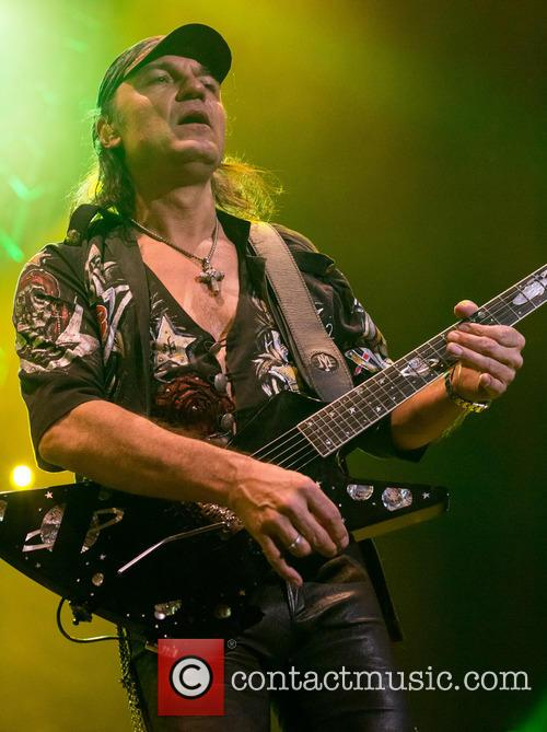 Scorpions and Matthias Jabs 5