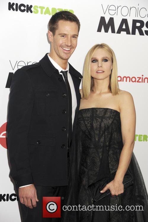 Jason Dohring and Kristen Bell 3