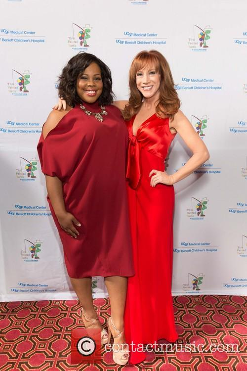 Amber Riley and Kathy Griffin 1