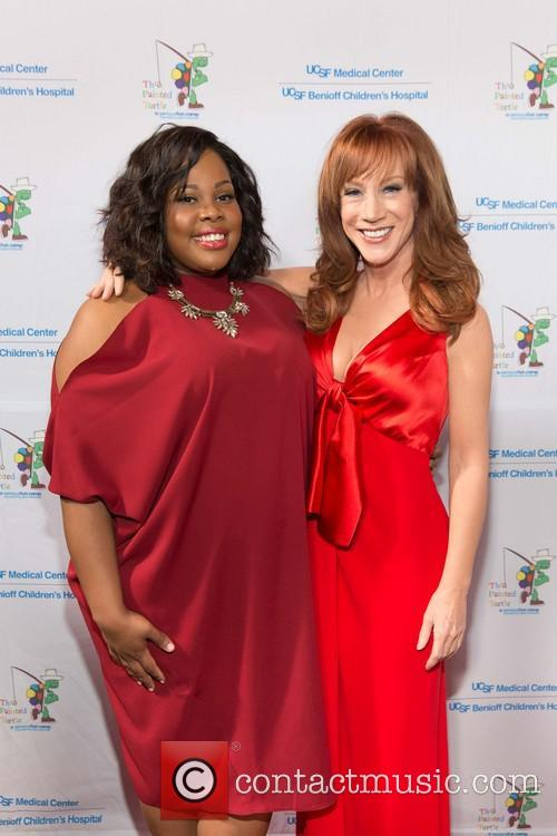 Amber Riley and Kathy Griffin 4