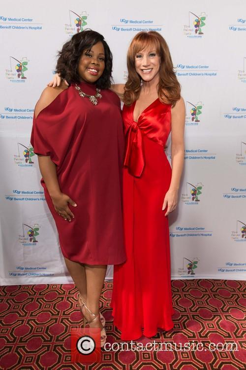 Amber Riley and Kathy Griffin 5