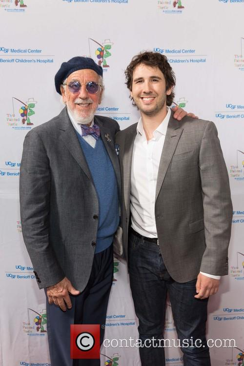 Lou Adler and Josh Groban 2