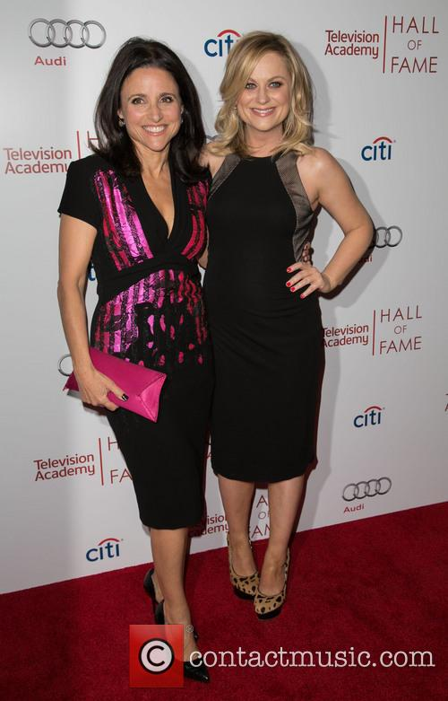 Julia Louis-dreyfus and Amy Poehler 9