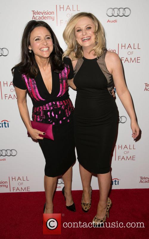 Julia Louis-dreyfus and Amy Poehler 10