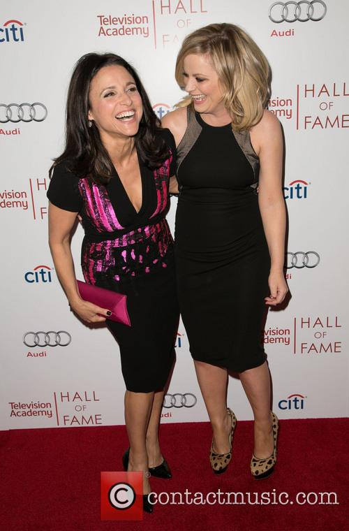 Julia Louis-dreyfus and Amy Poehler 11