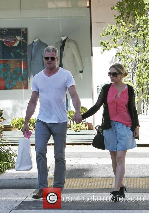 Eric Dane And Rebecca Gayheart Out And about