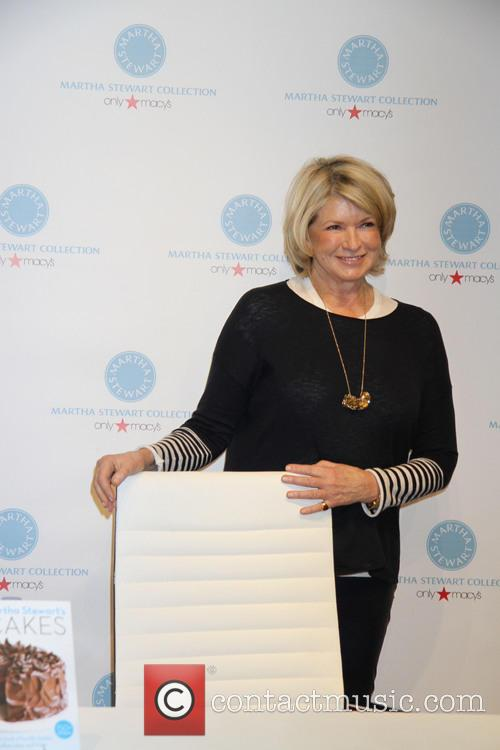 Martha Stewart Booksigning