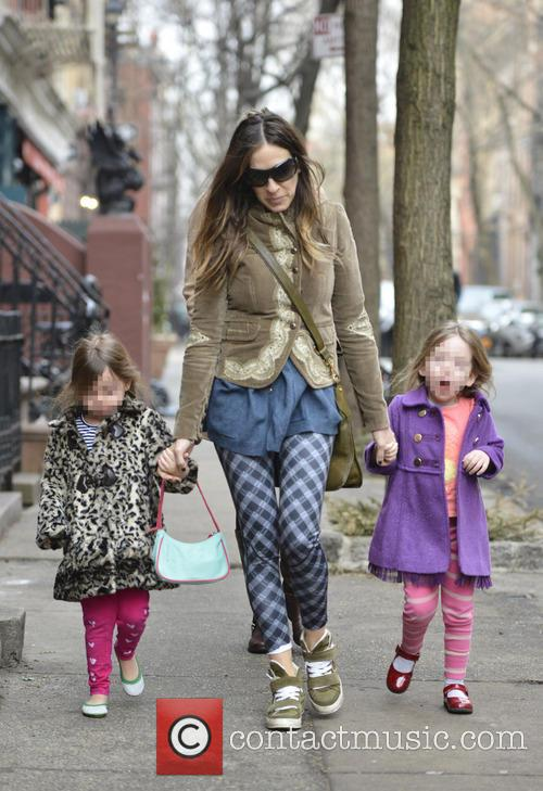 Sarah Jessica Parker, Marion Broderick and Tabitha Broderick 12