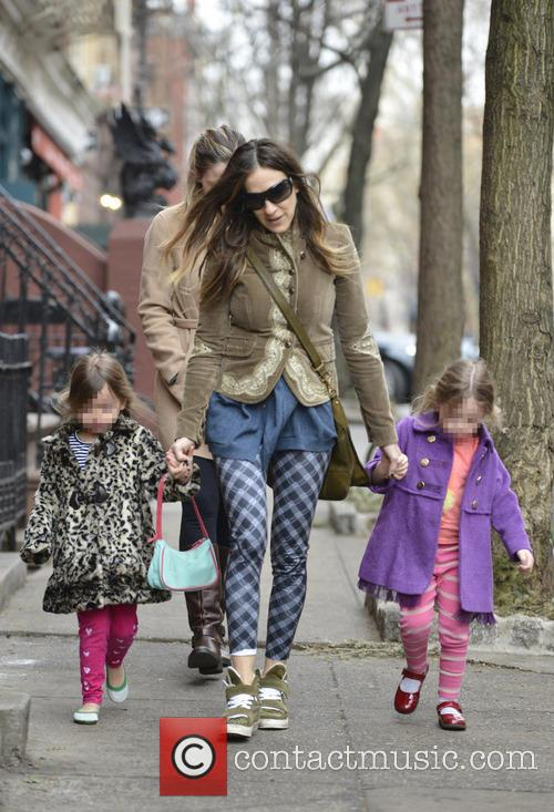 Sarah Jessica Parker, Marion Broderick and Tabitha Broderick 15