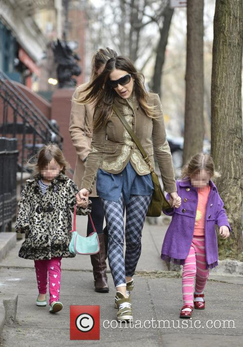 Sarah Jessica Parker, Marion Broderick and Tabitha Broderick 20