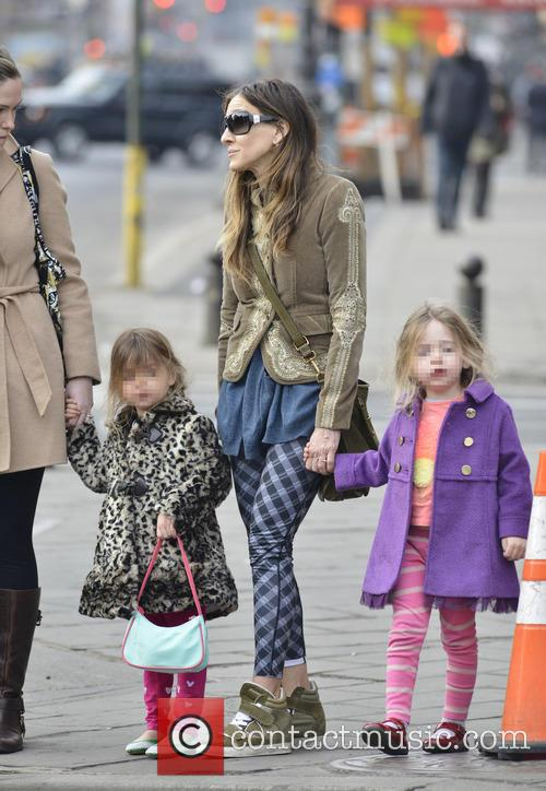 Sarah Jessica Parker, Marion Broderick and Tabitha Broderick 22