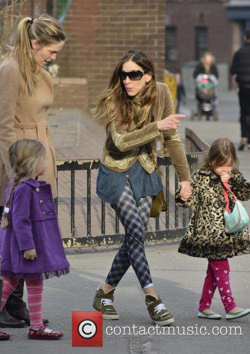 Sarah Jessica Parker, Marion Broderick and Tabitha Broderick 23