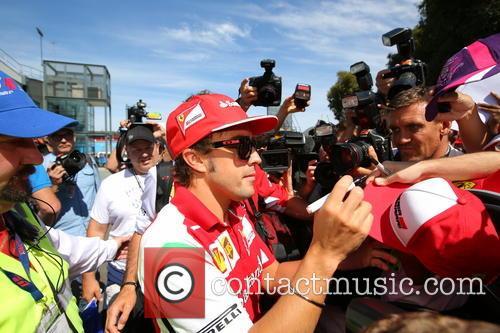Fernando Alonso and Esp 1