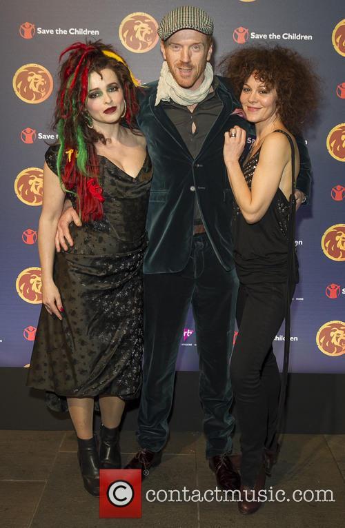 Helena Bonham Carter, Damian Lewis and Helen Mccrory 3