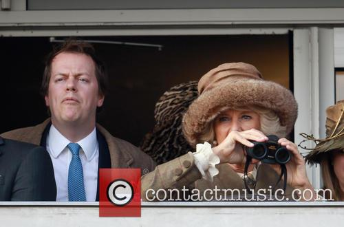 Camilla Duchess Of Cornwall and Tom Parker-bowles