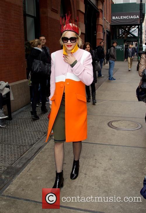 Rita Ora seen in Soho