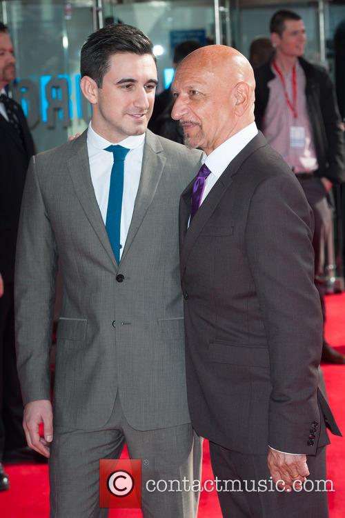 Sir Ben Kingsley and Ferdinand Kingsley 5