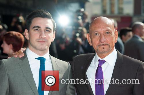 Sir Ben Kingsley and Ferdinand Kingsley 6