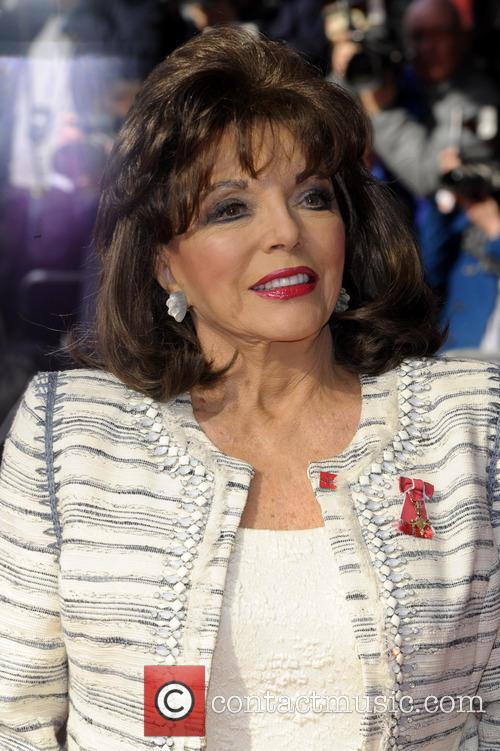 Joan Collins, Odeon Leicester Square